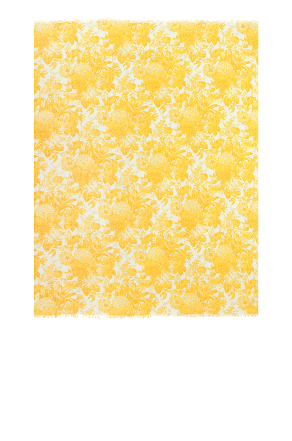 Image 1 of Stella McCartney Toile De Jouy Print Scarf in Citrus