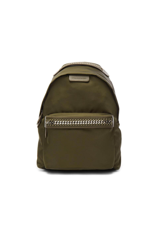Image 1 of Stella McCartney Backpack in Khaki