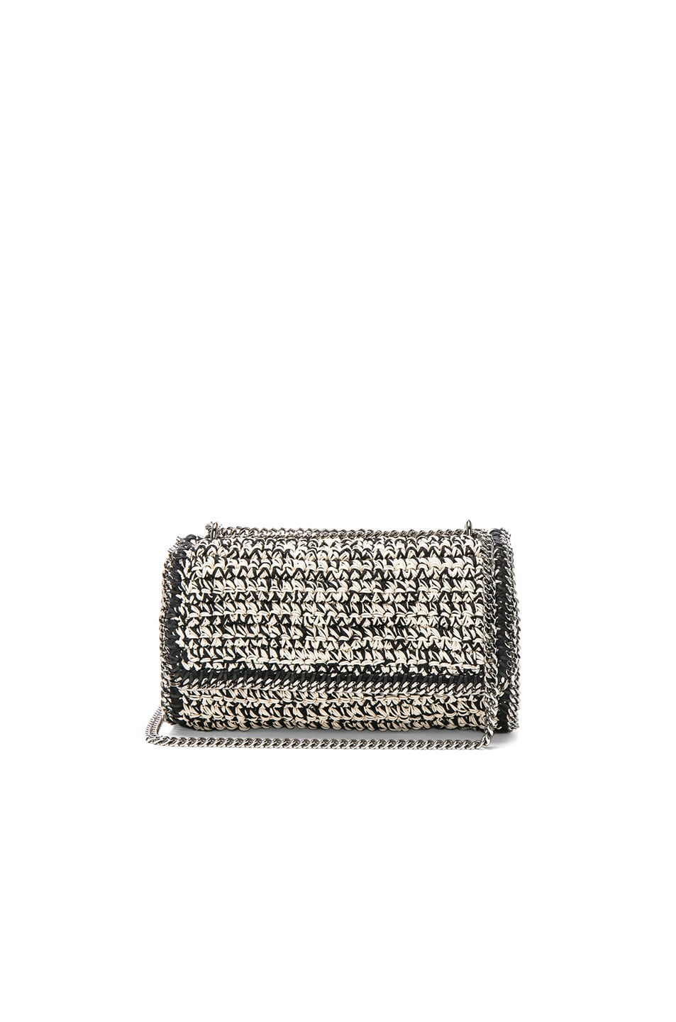 Image 1 of Stella McCartneyFalabella Crochet Shoulder Bag in Natural