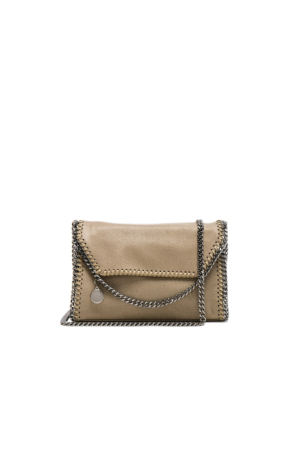 Image 1 of Stella McCartney Mini Shoulder Bag in Stone