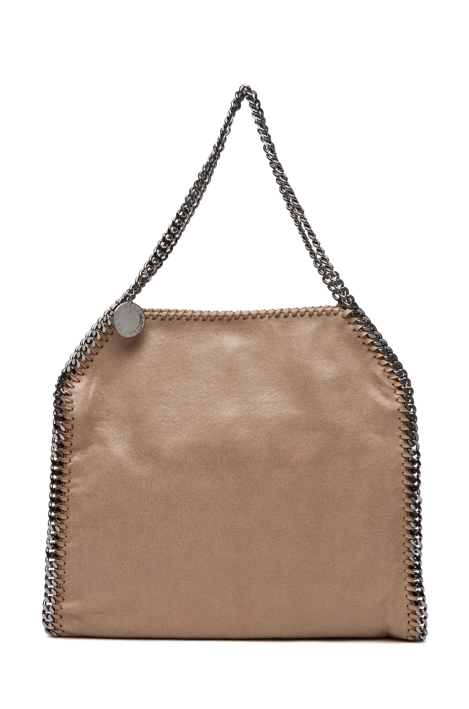 Image 1 of Stella McCartneyShaggy Deer Small Tote in Toffee