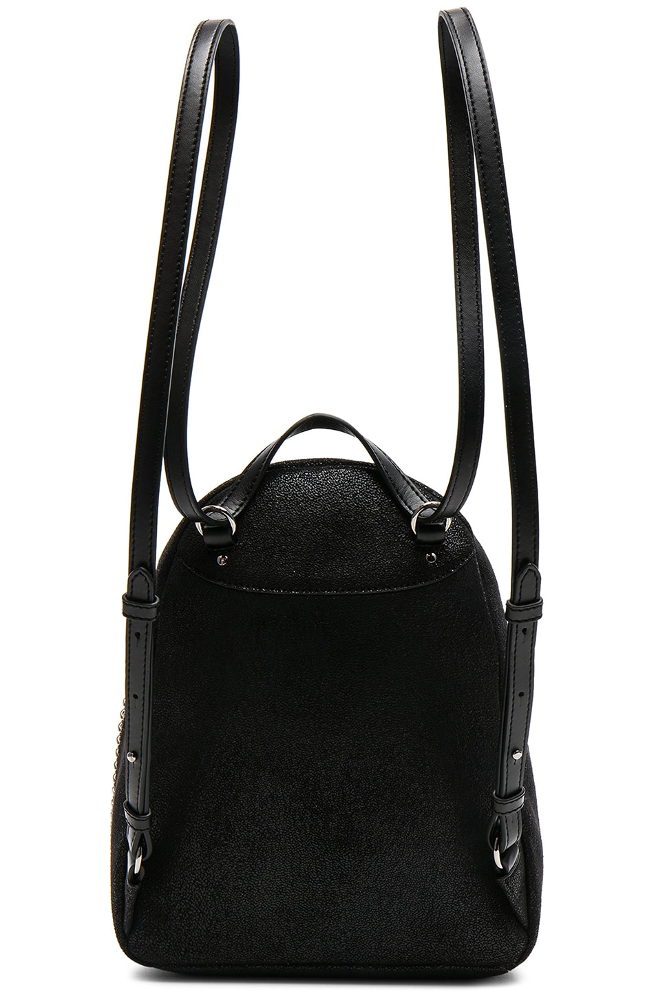 Image 3 of Stella McCartney Falabella Mini Backpack in Black