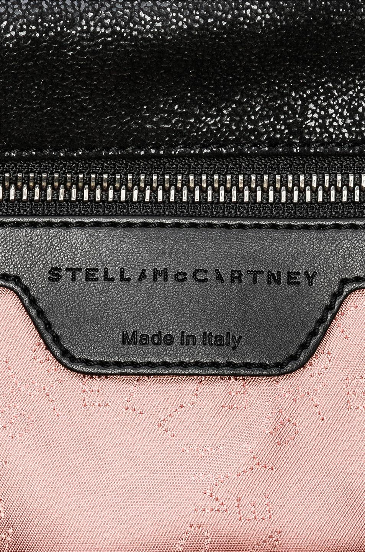 Image 7 of Stella McCartney Falabella Black Chain Tote in Black