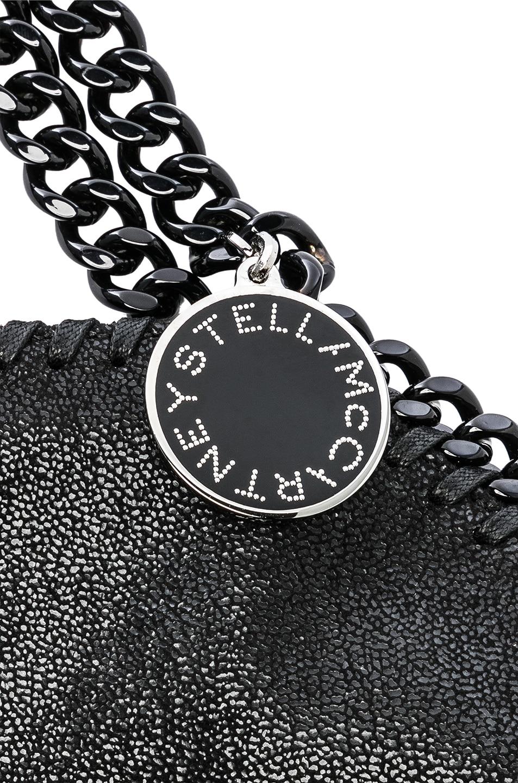 Image 8 of Stella McCartney Falabella Black Chain Tote in Black