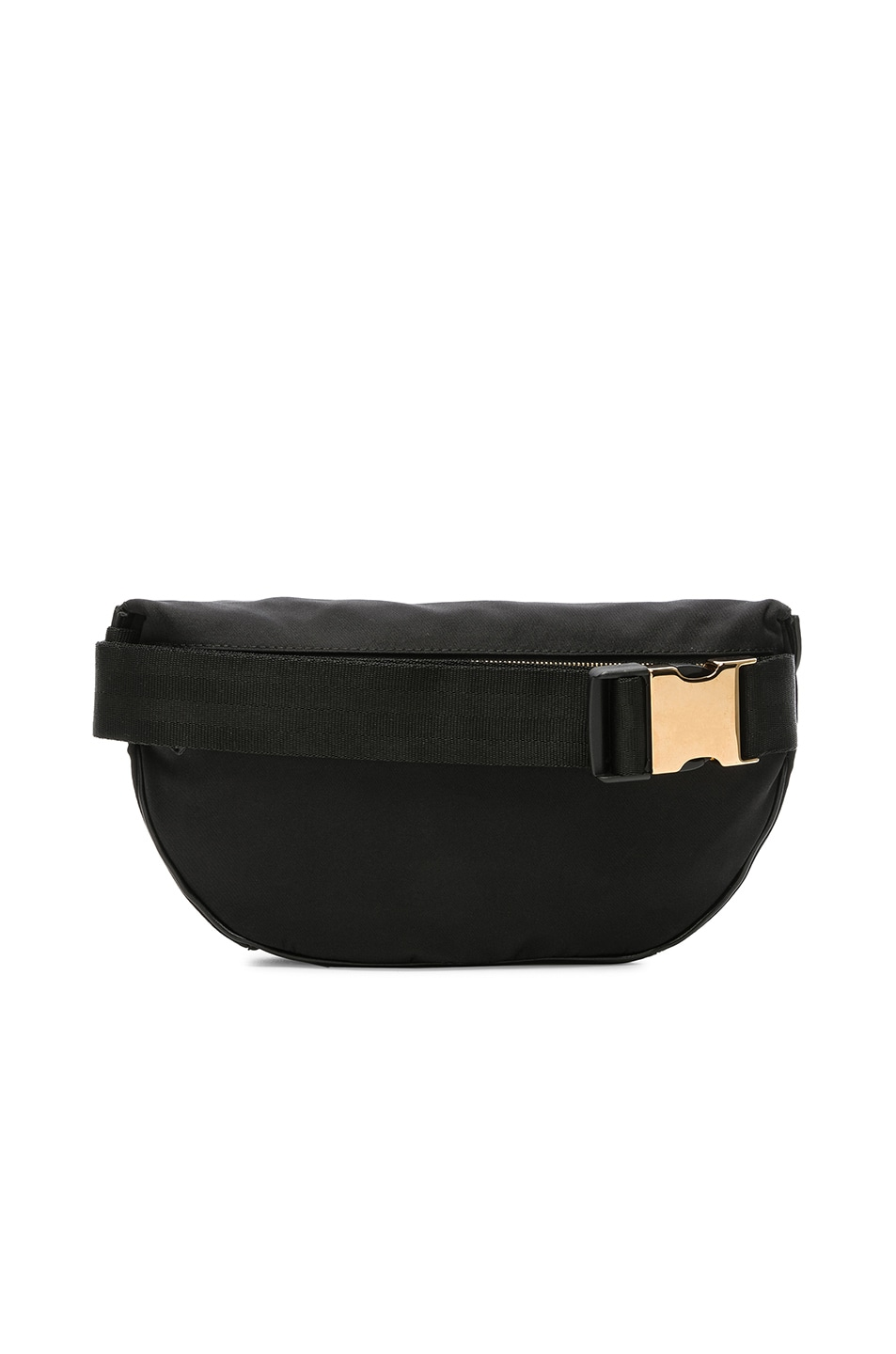 Image 3 of Stella McCartney Falabella Go Nylon Belt Bag in Black