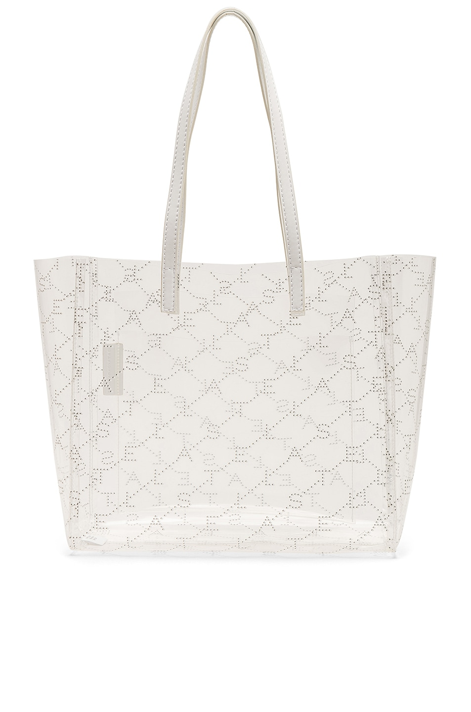 Image 1 of Stella McCartney Small Tote in Clear