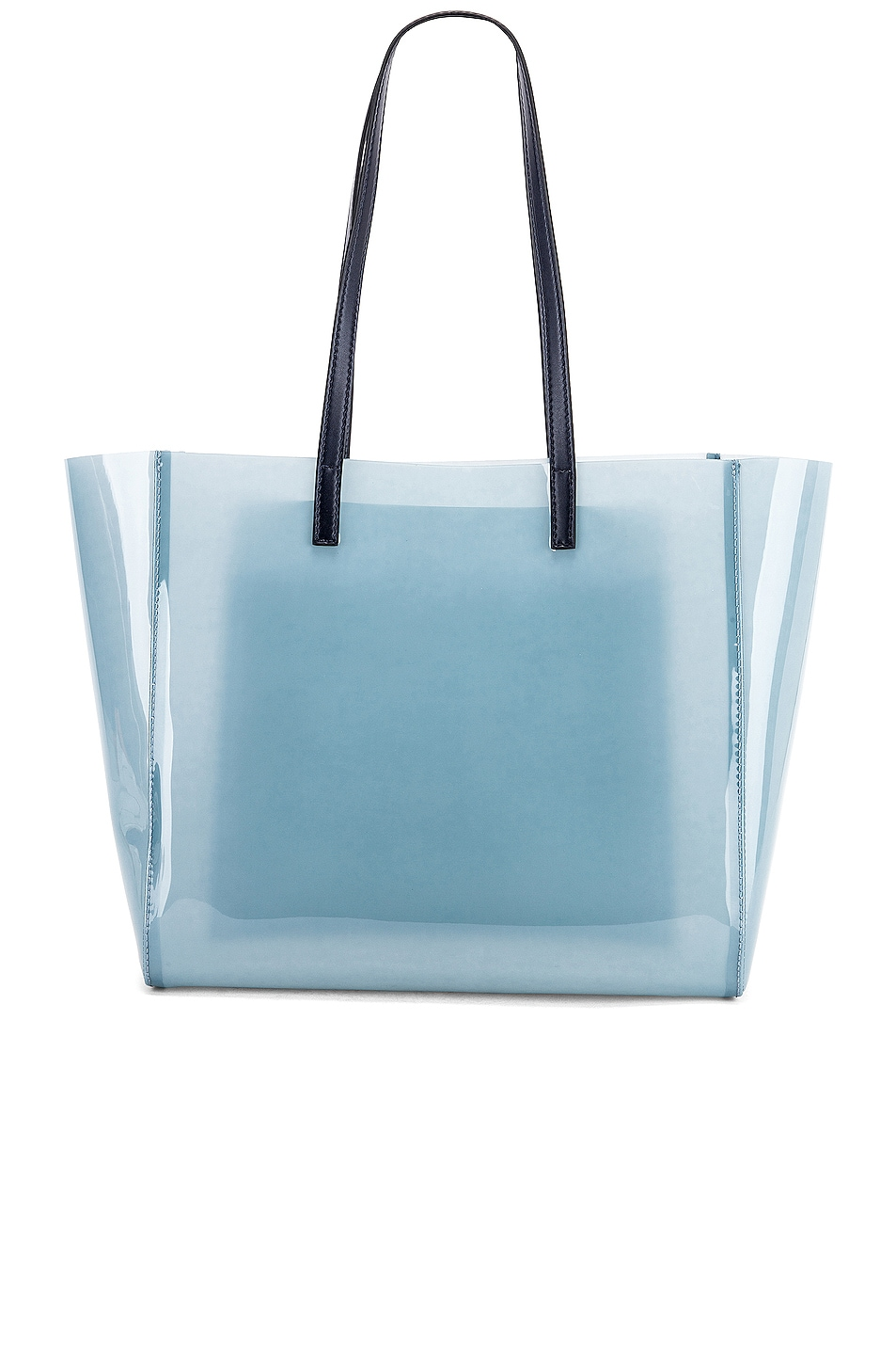 Image 3 of Stella McCartney Small Monogram Clear Tote in Pastel Blue