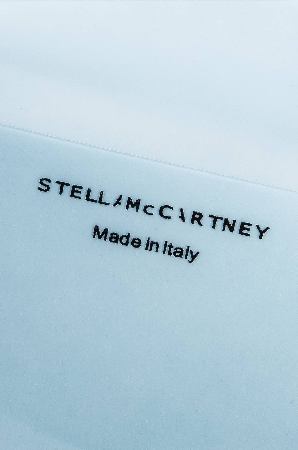 Image 6 of Stella McCartney Small Monogram Clear Tote in Pastel Blue