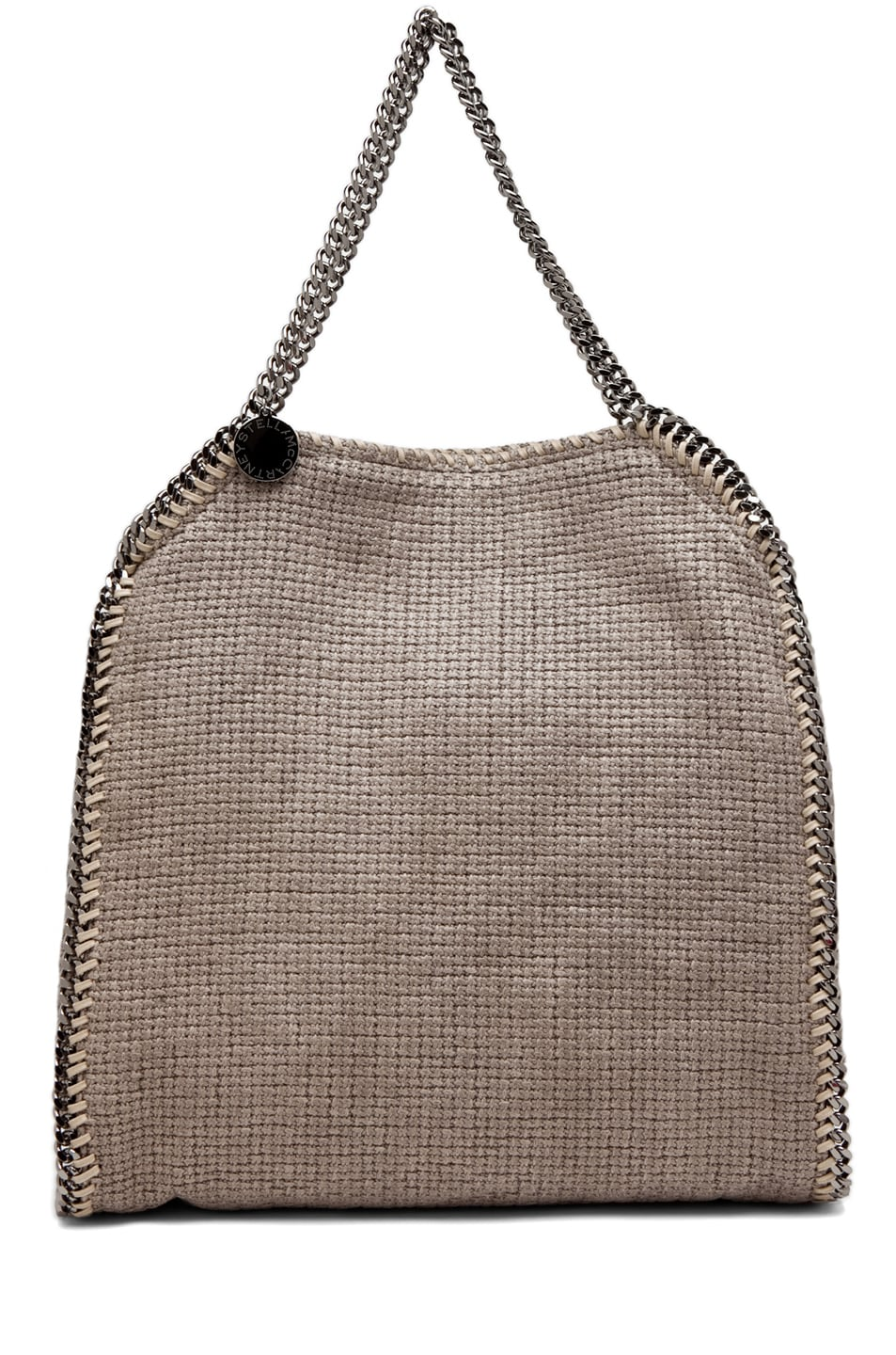 Image 1 of Stella McCartneyCotton Tricot Falab Cham Big Tote in Umber