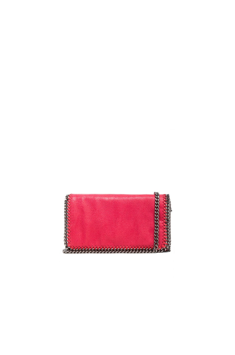 7b350715f1 Image 1 of Stella McCartney Falabella Shaggy Deer Crossbody Bag in Pink  Fluorescent