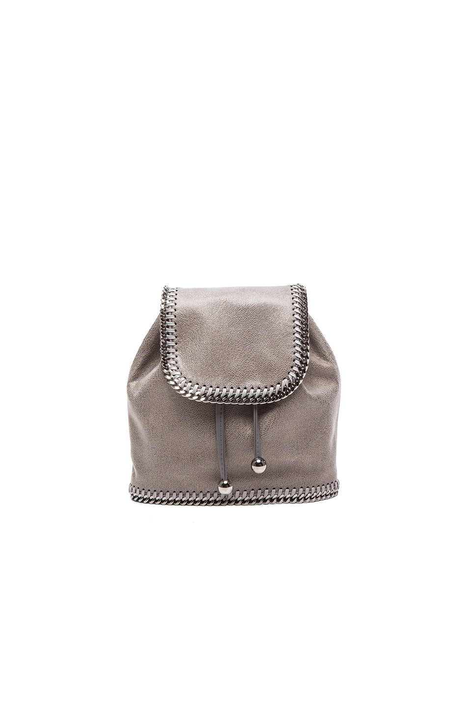 Image 1 of Stella McCartney Mini Backpack in Light Grey