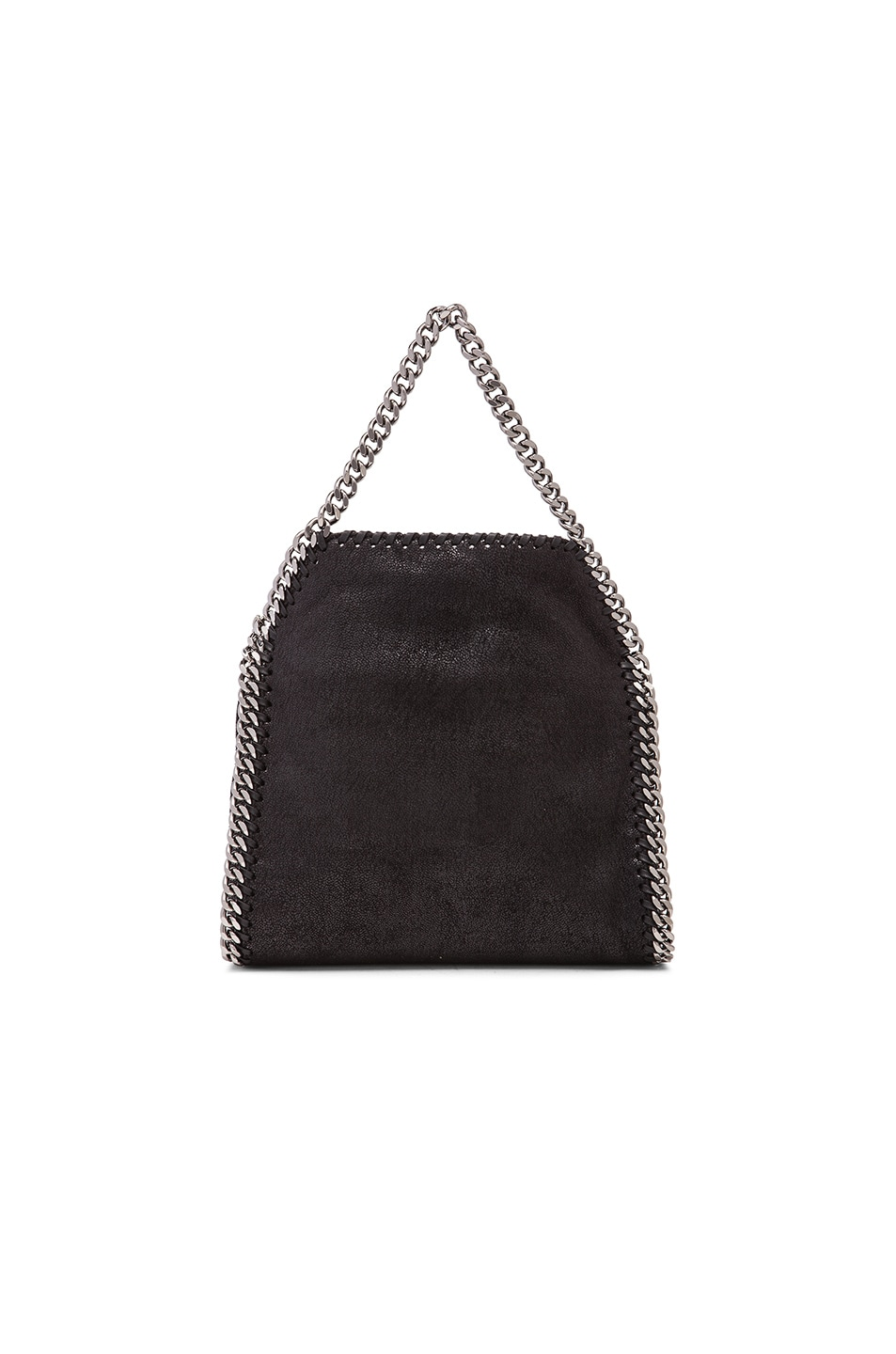 ce7a093b4f Image 3 of Stella McCartney Falabella Shaggy Deer Tiny Tote in Black