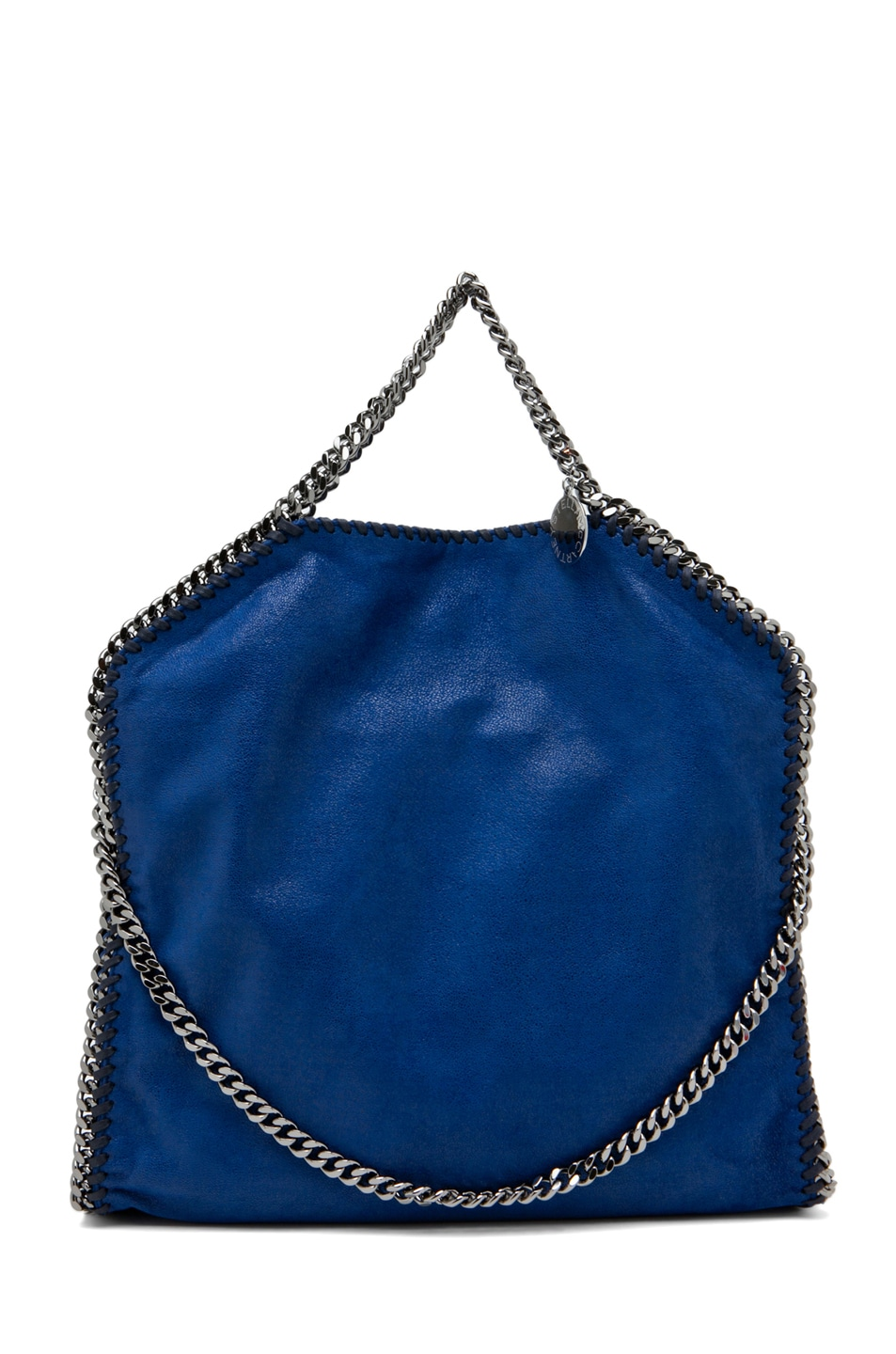 Image 1 of Stella McCartneyFalabella Small Tote in Cornflower