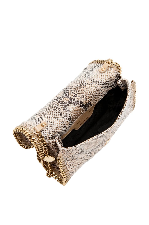 Image 4 of Stella McCartney Eco Snake Clutch in Caramel