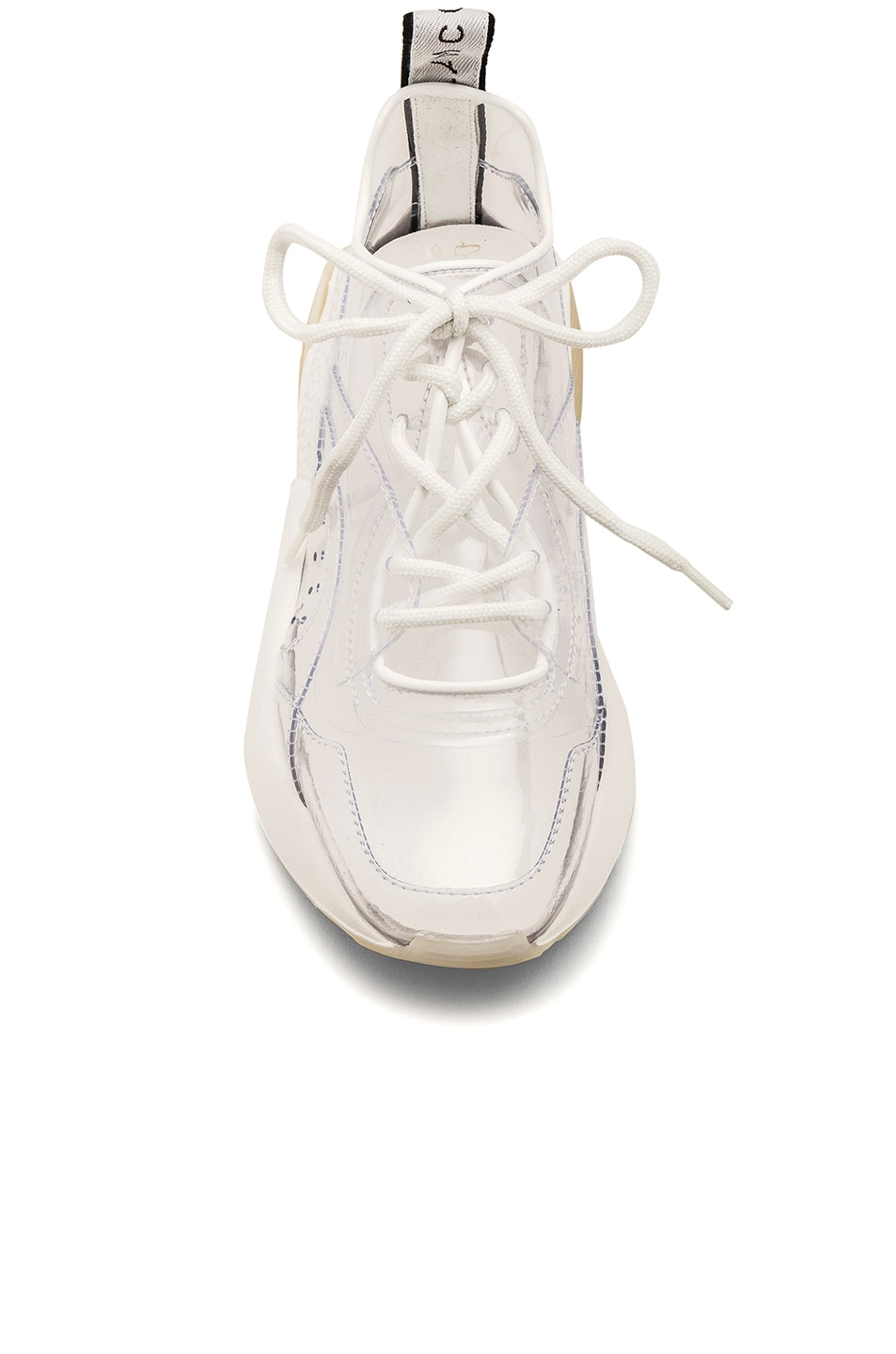 Image 4 of Stella McCartney Eclypse Lace Sneakers in Transparent & White