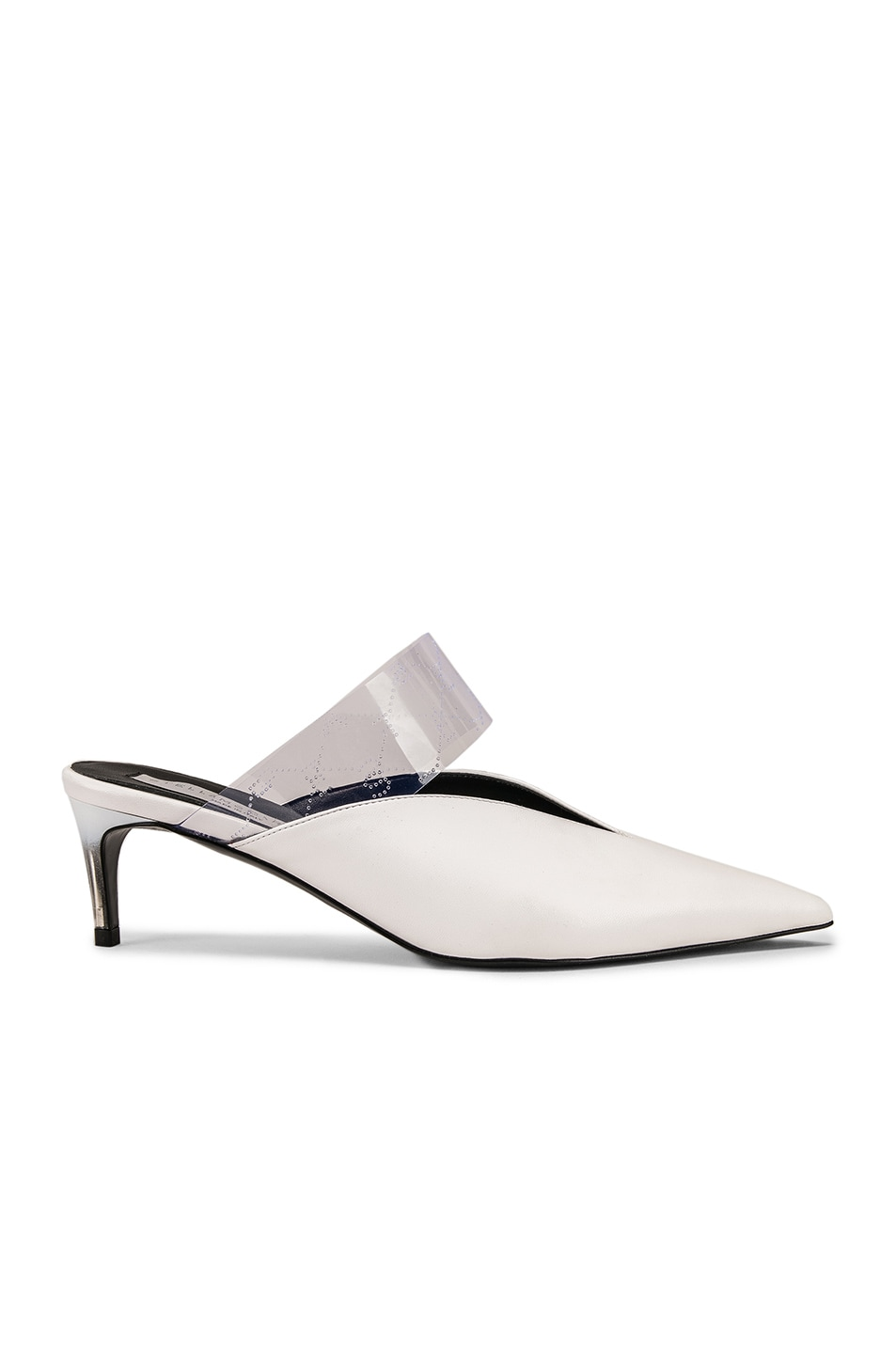 Image 1 of Stella McCartney Sling Back Pumps in White & Transparent