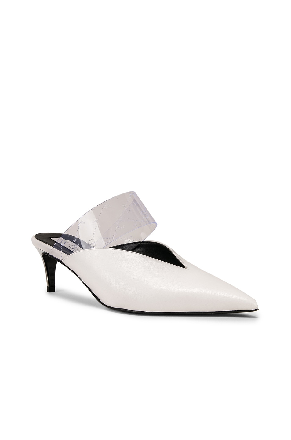 Image 2 of Stella McCartney Sling Back Pumps in White & Transparent