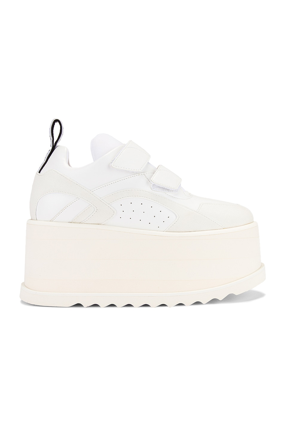 Image 1 of Stella McCartney Platform Velcro Sneaker in White