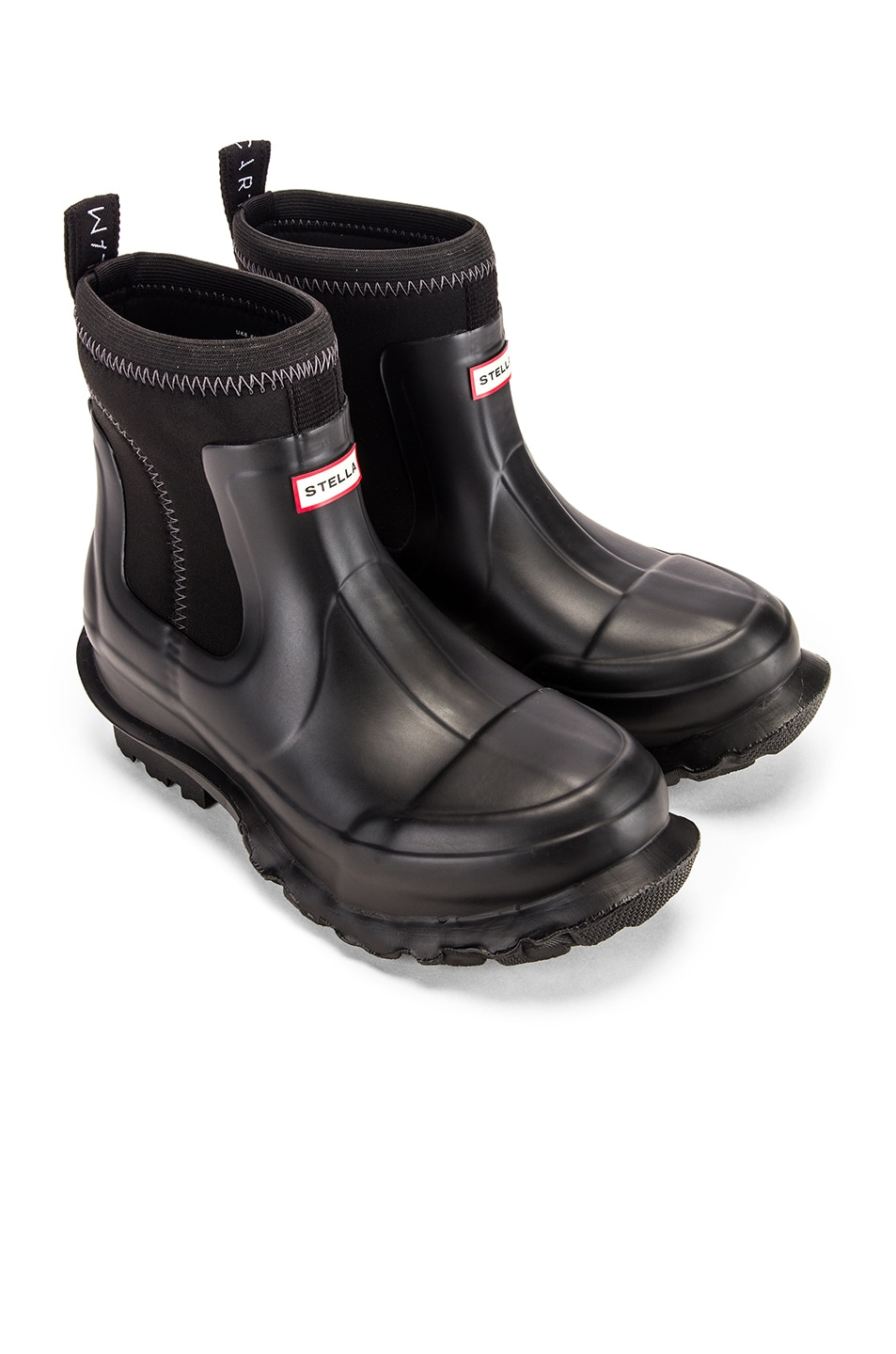 Image 1 of Stella McCartney Hunter Boots in Black