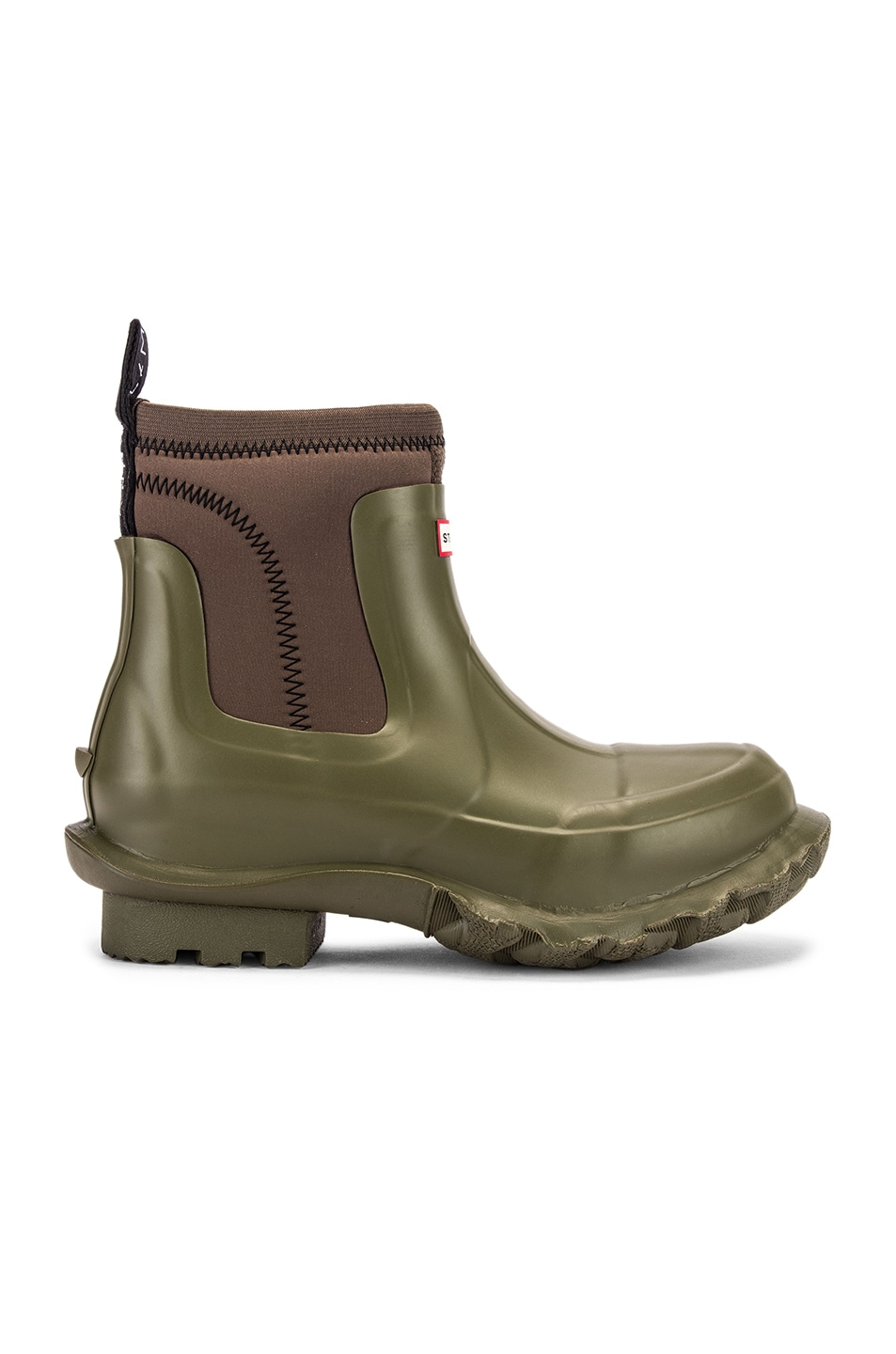Image 2 of Stella McCartney Hunter Boots in Olive Green