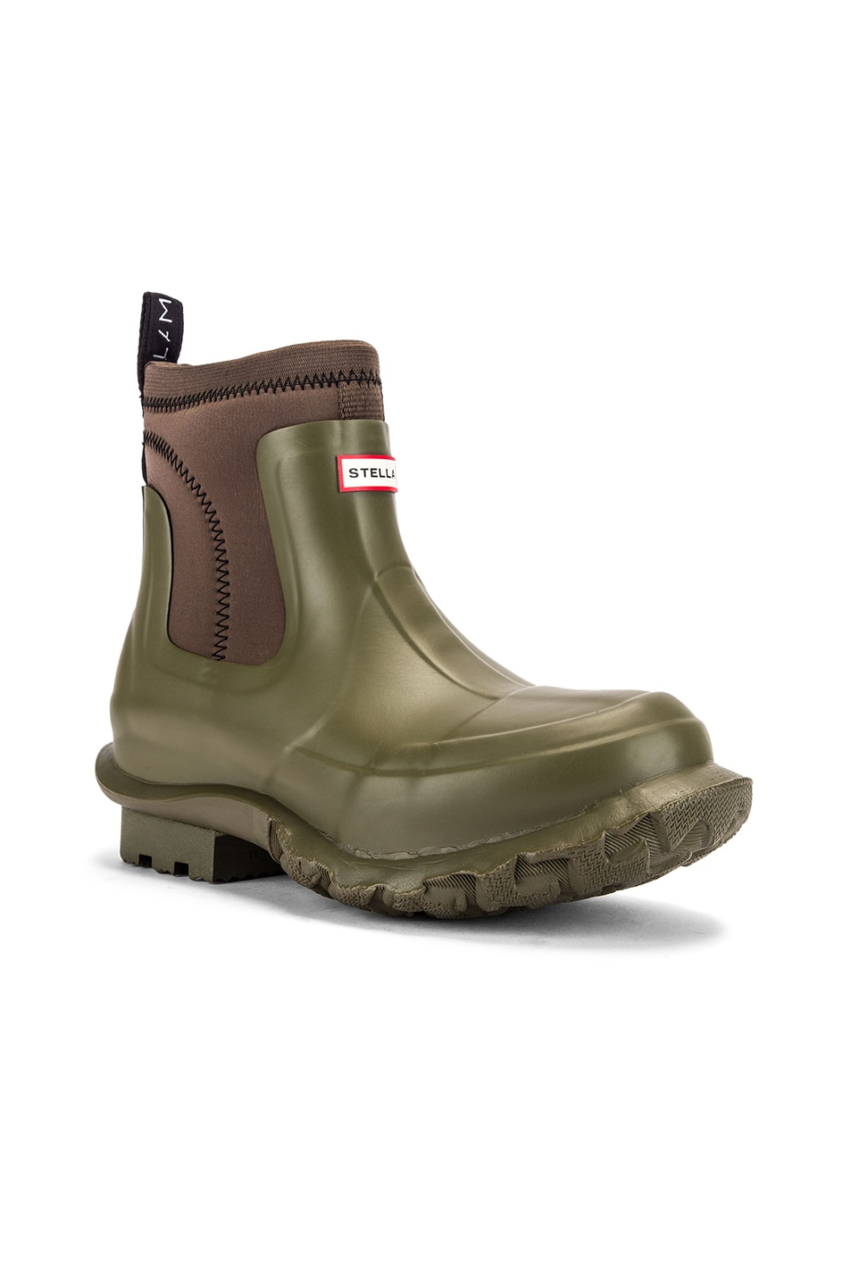 Image 3 of Stella McCartney Hunter Boots in Olive Green