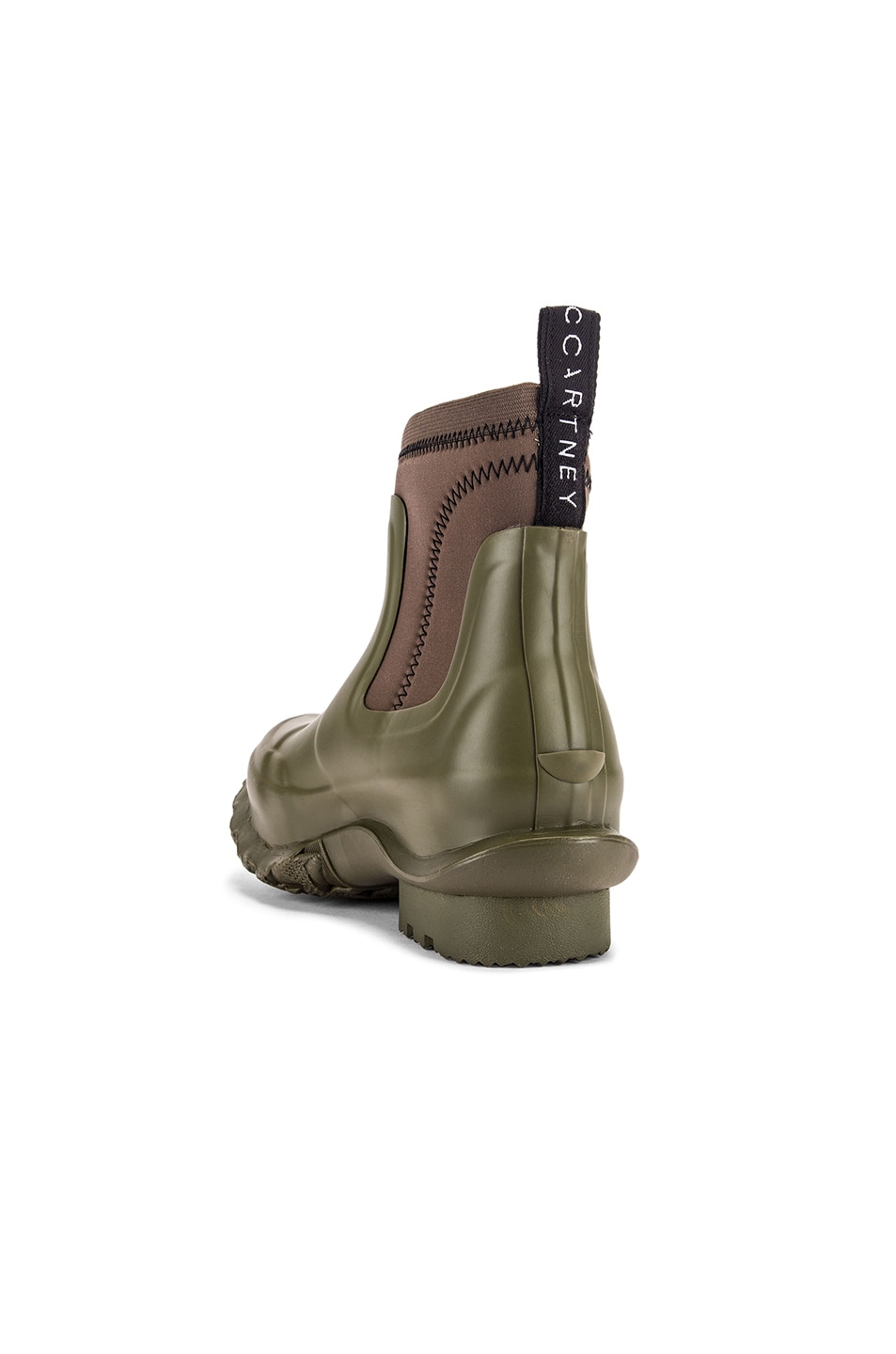 Image 4 of Stella McCartney Hunter Boots in Olive Green