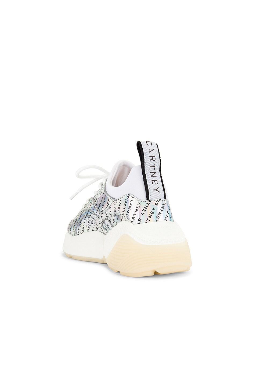 Image 3 of Stella McCartney Eclypse Laced Sneaker in Prisma & White