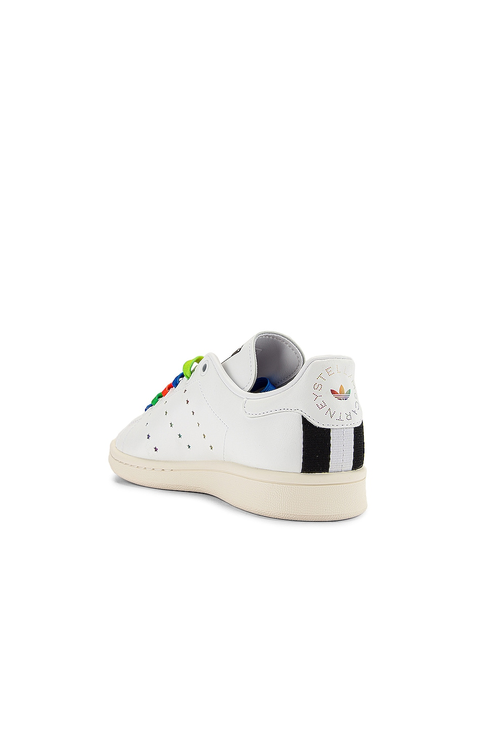 Image 4 of Stella McCartney Stan Smith Sneakers in White & Multicolor