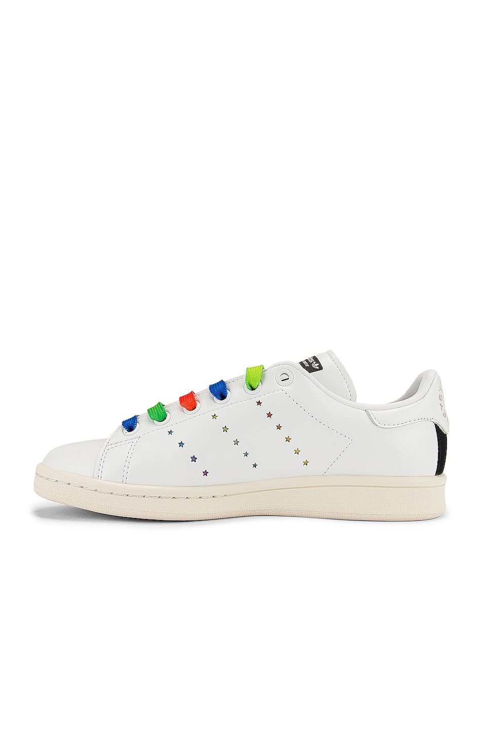 Image 5 of Stella McCartney Stan Smith Sneakers in White & Multicolor
