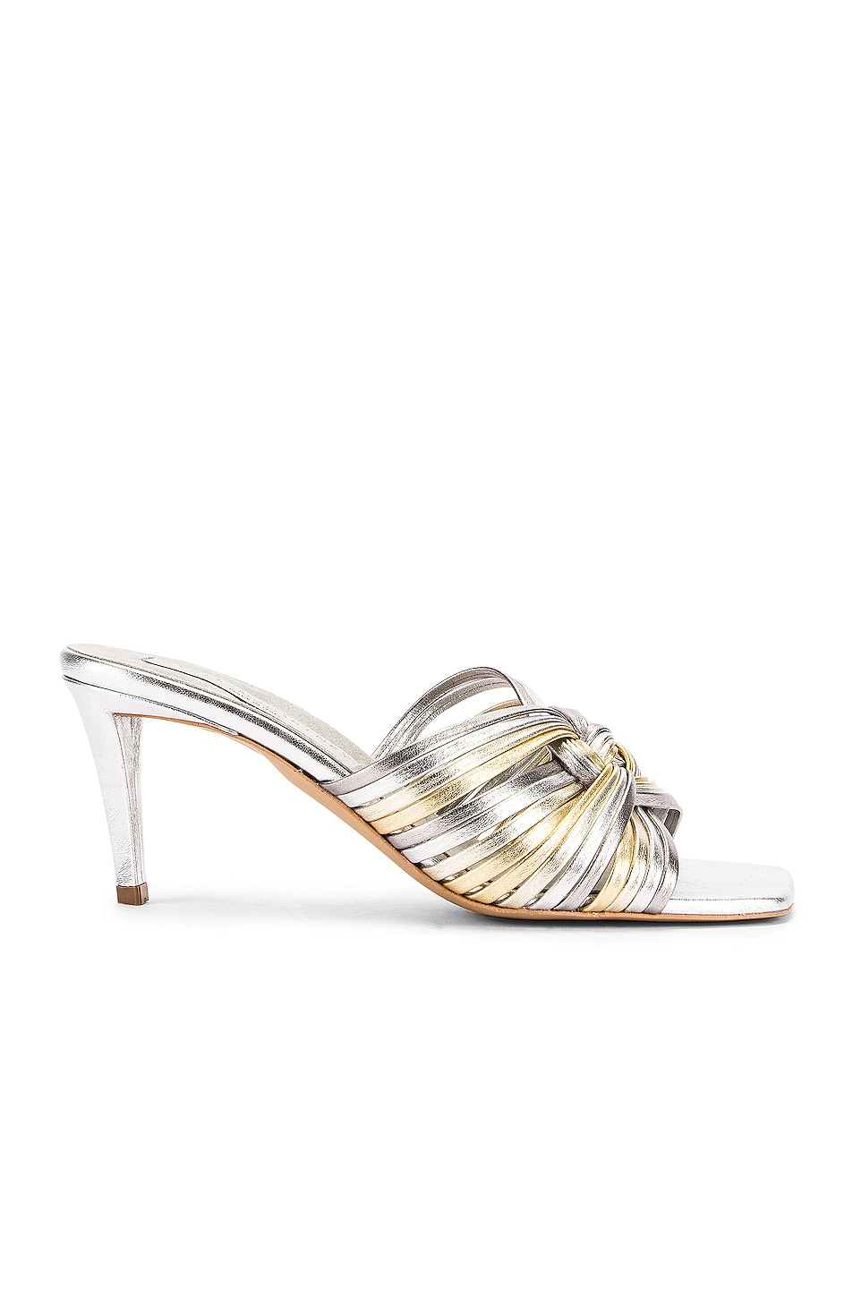 Image 1 of Stella McCartney Metallic Mules in Muticolor