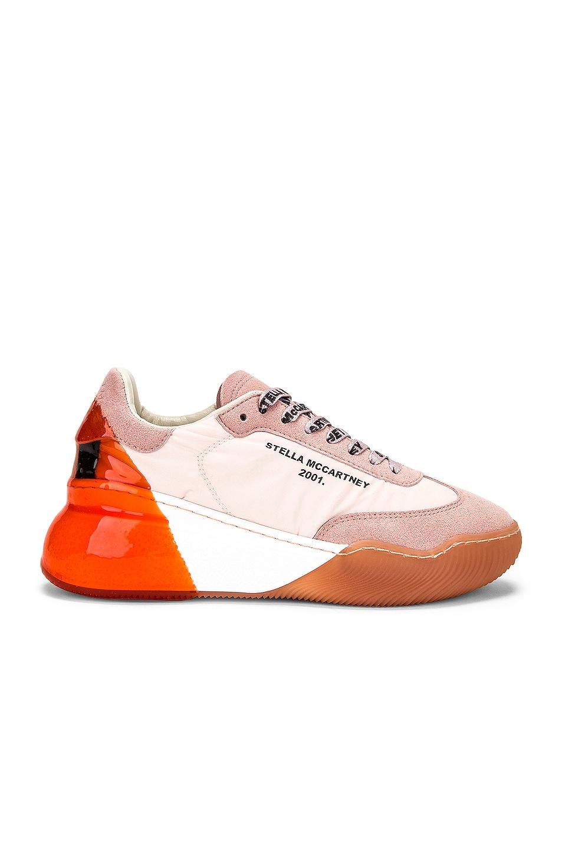 Image 1 of Stella McCartney Runner Loop Sneakers in Old Rose