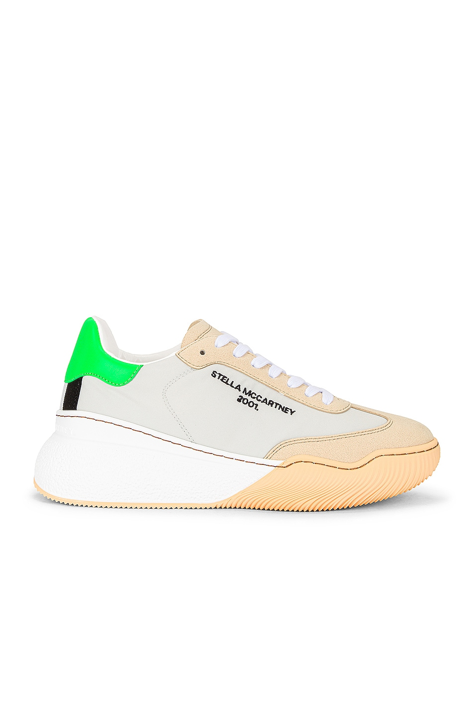 Image 1 of Stella McCartney Runner Loop Sneakers in Butter & Multicolor