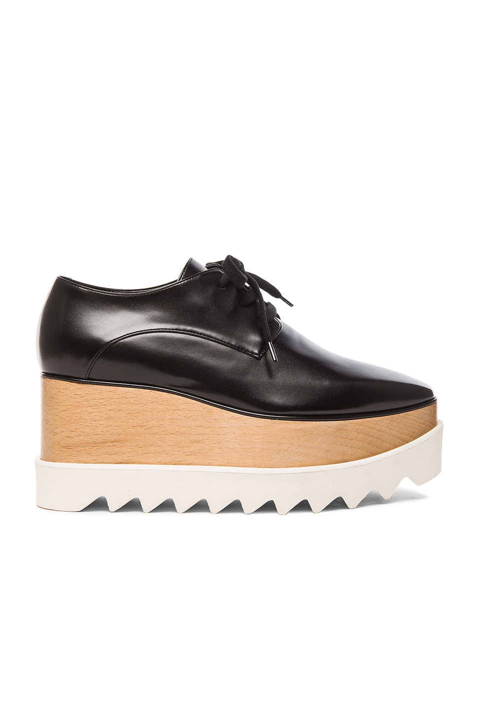 Image 1 of Stella McCartney Elyse Platform Shoes in Black