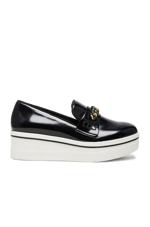 Image 1 of Stella McCartney Binx Platform Loafers in Black