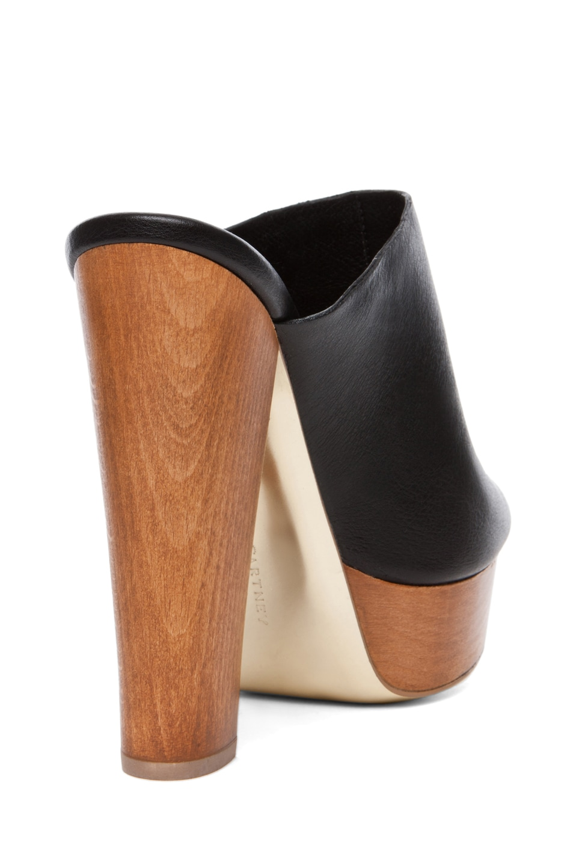 Image 3 of Stella McCartney Amil Platform Sandals in Black