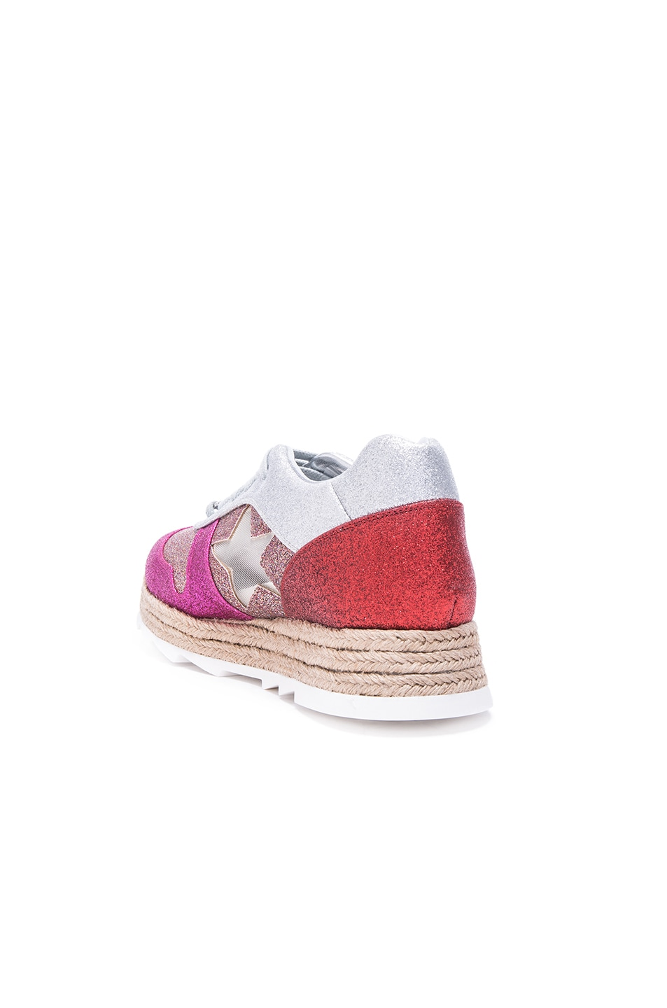 ed8ae6f72511 Image 3 of Stella McCartney Macy Lace Up Sneakers in Multi
