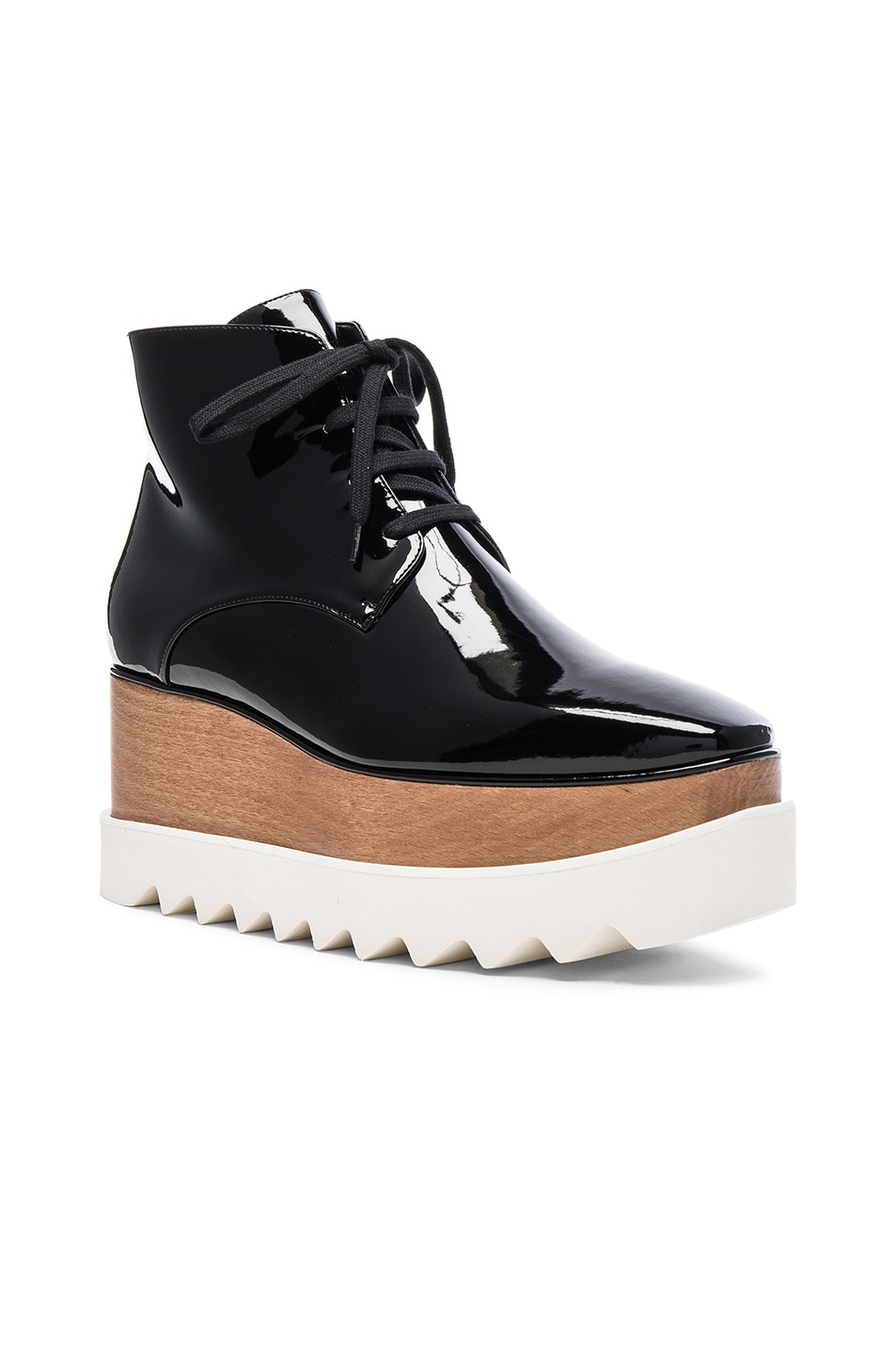 Image 2 of Stella McCartney Elyse Platform Boots in Black