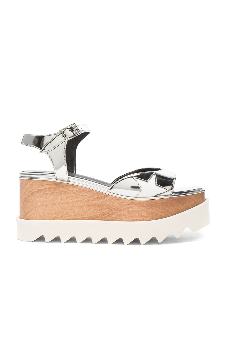 Image 1 of Stella McCartneyPlatform Sandals in Indium & White