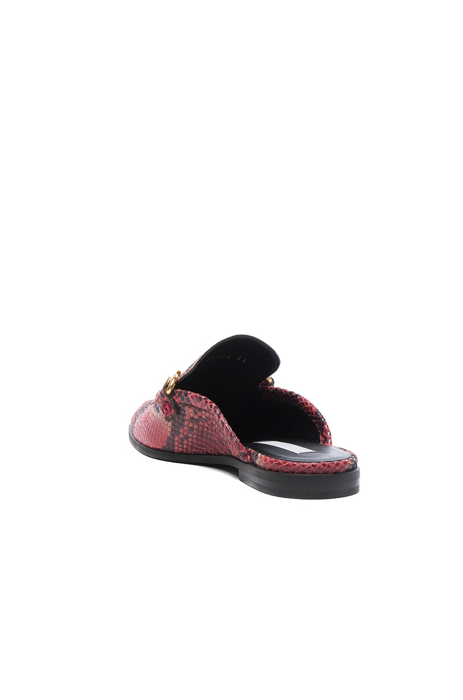 Image 3 of Stella McCartney Buckle Loafers in Tropea & Black