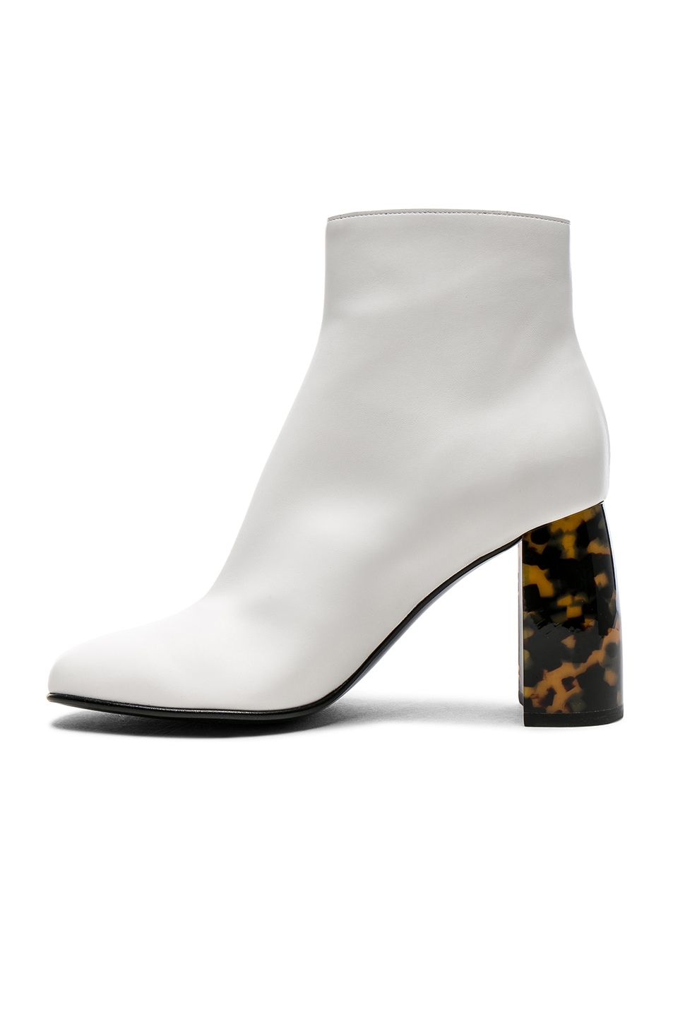 Image 5 of Stella McCartney Zip Ankle Boots in White