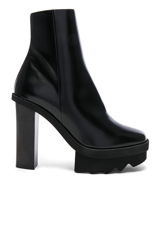 Image 1 of Stella McCartney Platform Ankle Boots in Black