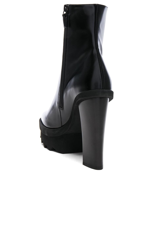 Image 3 of Stella McCartney Platform Ankle Boots in Black