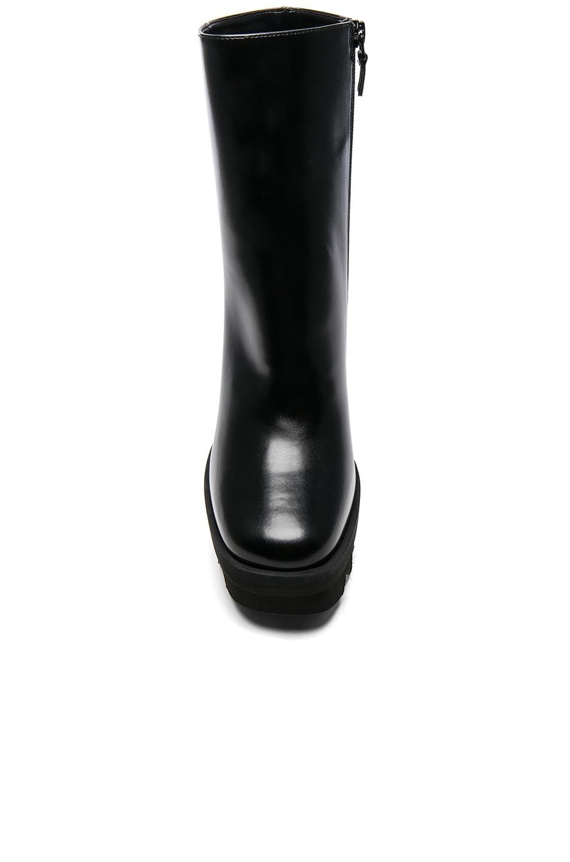Image 4 of Stella McCartney Platform Ankle Boots in Black