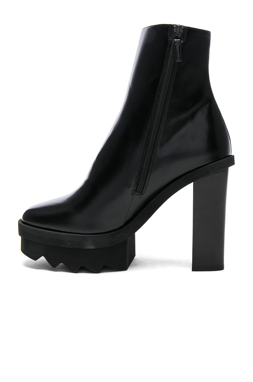 Image 5 of Stella McCartney Platform Ankle Boots in Black