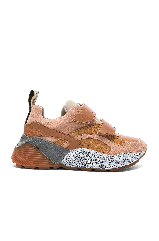 Stella McCartney Eclypse Velcro Strap Sneakers in ,Neutrals.