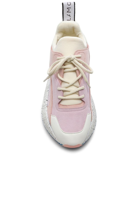 Image 4 of Stella McCartney Eclypse Sneakers in Rose, White & Multi