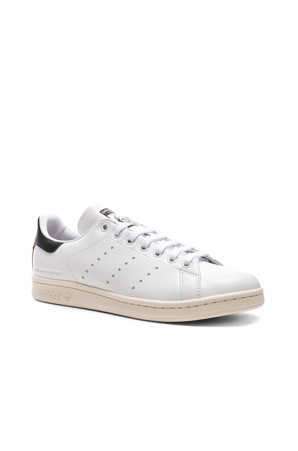 Image 2 of Stella McCartney Low Top Sneakers in White & Black