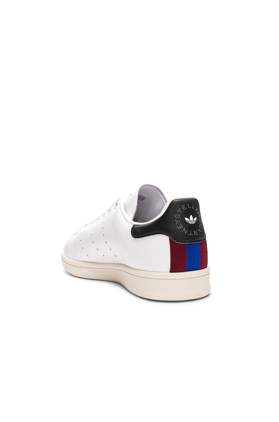 Image 3 of Stella McCartney Low Top Sneakers in White & Black