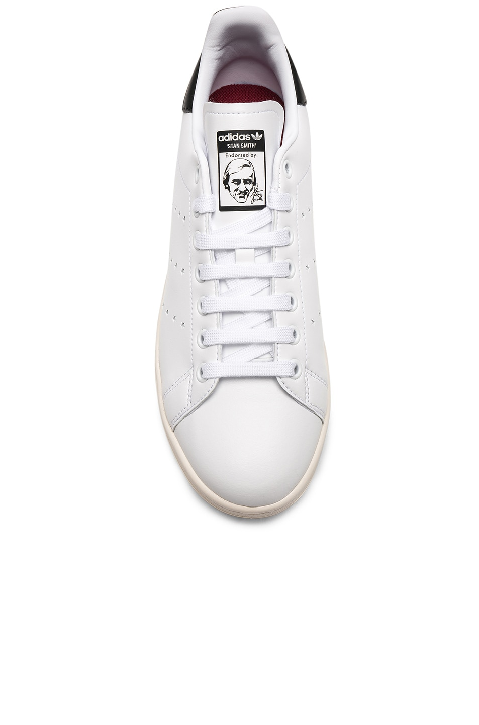 Image 4 of Stella McCartney Low Top Sneakers in White & Black