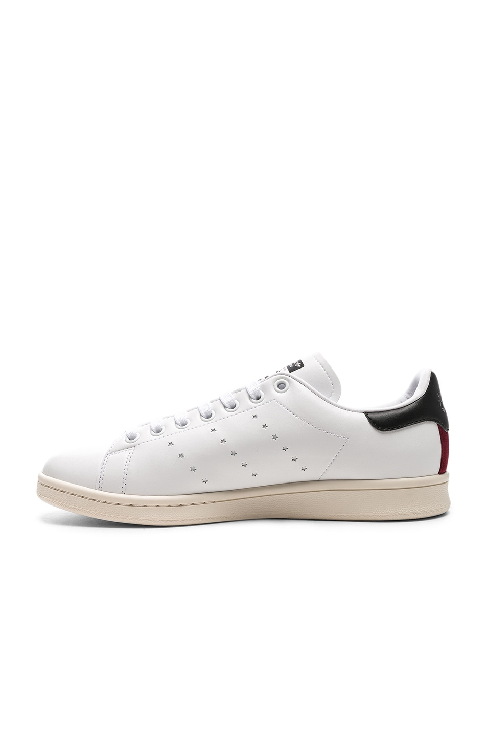 Image 5 of Stella McCartney Low Top Sneakers in White & Black